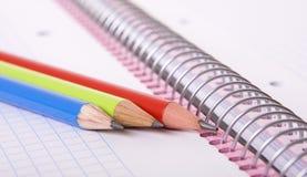 blyertspennor Royaltyfri Fotografi