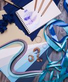 blyertspennor tre Arkivfoton