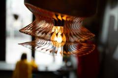Blyrred背景咖啡馆 免版税库存图片