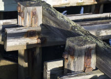 Blyth Dock Stock Image
