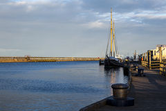 Blyth Harbour at sunset. Stock Photography