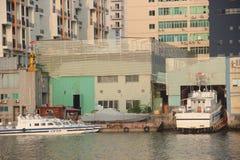 Blyth skeppsvarv i SHEKOU SHENZHEN Arkivbilder