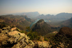 Blythe canyon in South Africa Royalty Free Stock Image