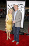 Blythe Danner and Ed Begley Jr. Royalty Free Stock Photography