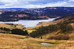 BM Lake Above Country Royalty Free Stock Photo