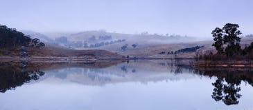 BM Lake Lyell WIde panorama Royalty Free Stock Photos