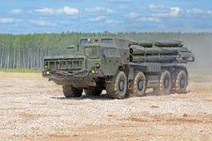 The BM-30 Smerch Royalty Free Stock Image