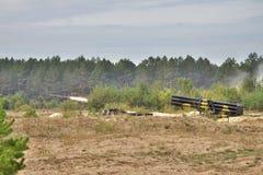 BM-27 Uragan Foto de Stock Royalty Free