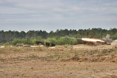 BM-27 Uragan Stock Photography