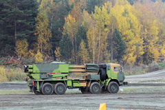 BM-27 Uragan (9P140) Royalty Free Stock Images
