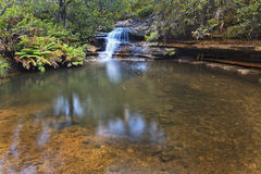 BM Waterfall horseshoe Royalty Free Stock Photo