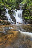 BM Waterfall valley vertical WF Royalty Free Stock Images