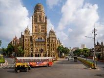 BMC miejski budynek w Mumbai mieście, obrazy stock