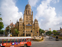 BMC miejski budynek w Mumbai mieście, zdjęcia royalty free