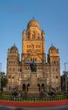 BMC Mumbai z frontowym widokiem zdjęcia royalty free