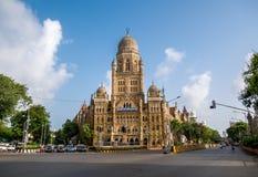 BMC municipal building in Mumbai City, Stock Image