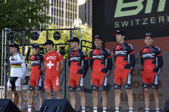 BMC Professional Cycling Team Stock Photography