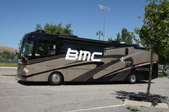 BMC Team Bus 2012 Amgen Tour of California Stock Image