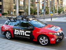 BMC Team Car Stock Photo