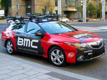 BMC Team Car Royalty Free Stock Photography