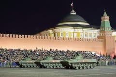 BMD-4战斗用车辆 免版税库存图片