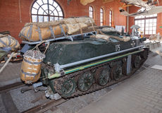 The BMD-1 is a Soviet airborne amphibious tracked infantry fight Royalty Free Stock Image