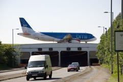 BMI Airbus Imagem de Stock Royalty Free