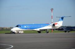 BMI regional Jet Stock Image