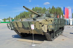 BMP-3M (infantry combat vehicle). KUBINKA, MOSCOW OBLAST, RUSSIA - JUN 18, 2015: International military-technical forum ARMY-2015 in military-Patriotic park. The Royalty Free Stock Photography