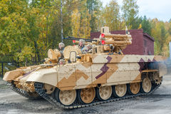 BMPT Ramka - Tank Support Fighting Vehicle Royalty Free Stock Photography