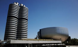 BMW博物馆在慕尼黑 免版税库存照片