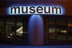 bmw博物馆 免版税库存照片