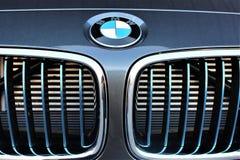 BMW商标- Hameln/德国的图象- 07/18/2017 免版税库存图片