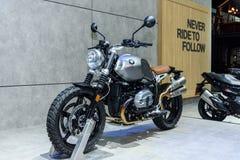 BMW在显示的概念道路22在第37个曼谷国际汽车展示会 免版税库存照片