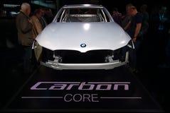 BMW在IAA汽车的碳核心 库存照片