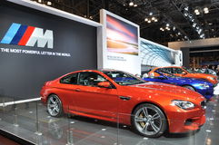 BMW展览 图库摄影