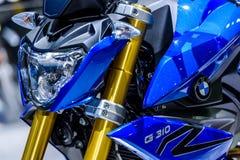 BMW摩托车G 310 R 免版税库存照片