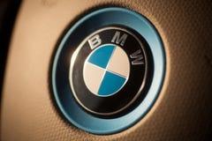 BMW汽车商标细节 库存照片