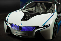 bmw汽车概念前面远见 免版税库存图片