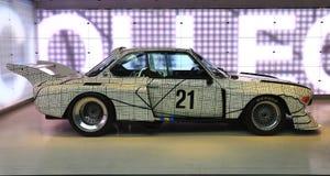 BMW艺术汽车 免版税库存图片