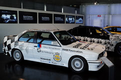 BMW赛车 免版税图库摄影