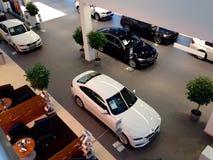 BMW陈列室 库存照片