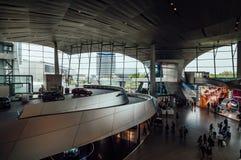 BMW鞭痕内部看法在慕尼黑 库存图片