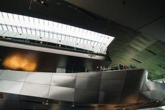 BMW鞭痕内部看法在慕尼黑 库存照片