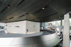 BMW鞭痕内部看法在慕尼黑 免版税图库摄影