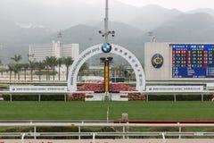 BMW香港德比Raceday 库存照片