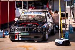 BMW αγωνιστικό αυτοκίνητο 3 σειρών Στοκ εικόνα με δικαίωμα ελεύθερης χρήσης
