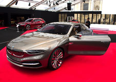 BMW μεγάλο Lusso Coupe 2013. Στοκ Φωτογραφίες