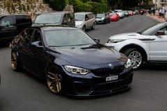 BMW Μ3 F80 στοκ εικόνες