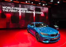 2016 BMW τετρ.μέτρο Coupe στοκ φωτογραφία με δικαίωμα ελεύθερης χρήσης